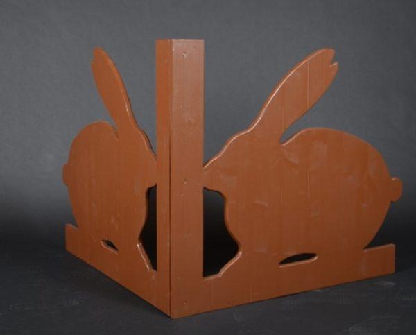 barrière lapins, élément décoratif, séparateur pour animation