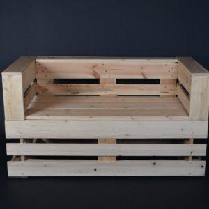Canapé palette, bois recyclé, sofa